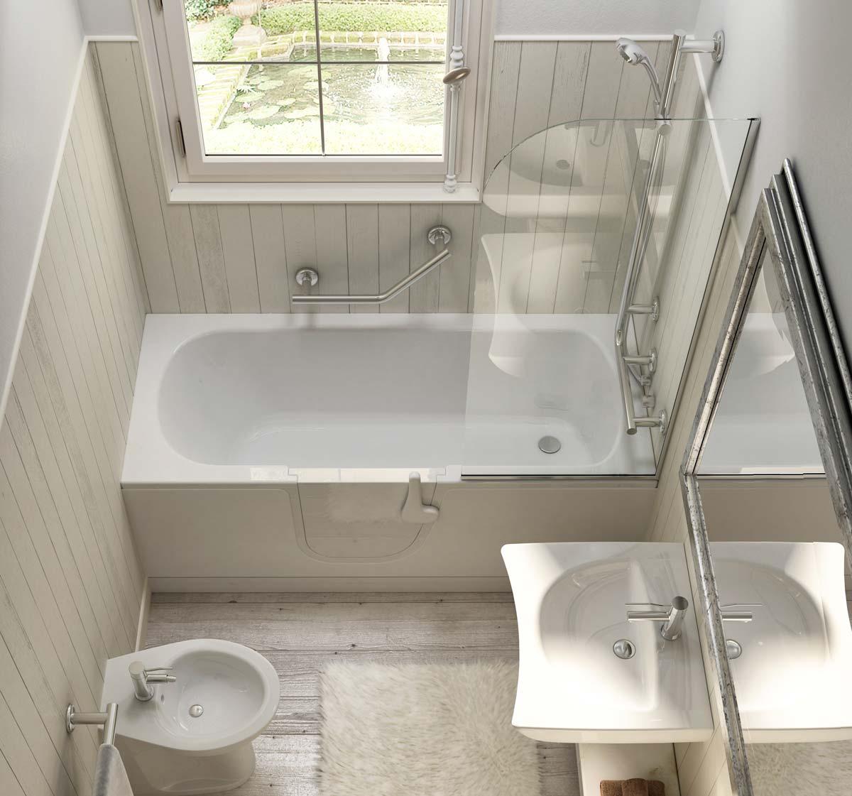 Standing Bathtubs